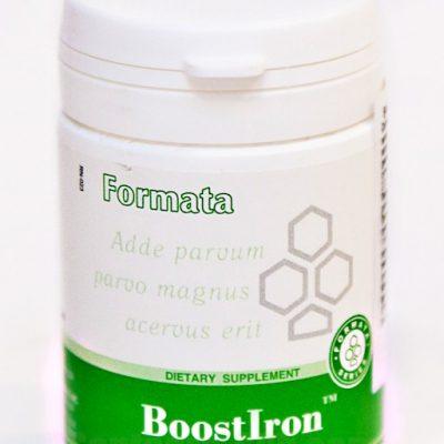 BoostIron ( 60 tablėčių ) 18 g. - maisto papildas