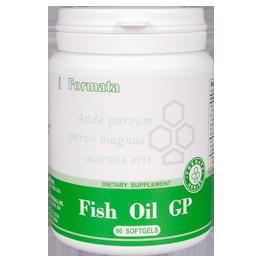 Fish Oil GP ( 90 kapsulių ) 123,8 g. - maisto papildai