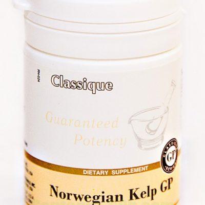 Norwegian Kelp GP (60 tablečių) 24 g. - maisto papildas